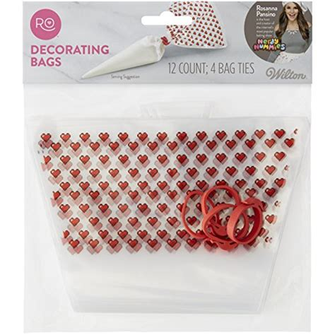 decorating bags rosanna pansino by wilton disposable decorating bags 12