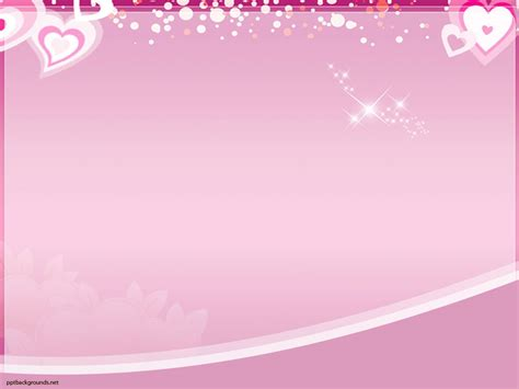 Free Pink Love Theme Backgrounds For Powerpoint Love Ppt Templates Themed Powerpoint Template