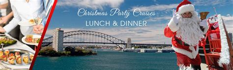christmas cruises christmas lunch party cruise sydney
