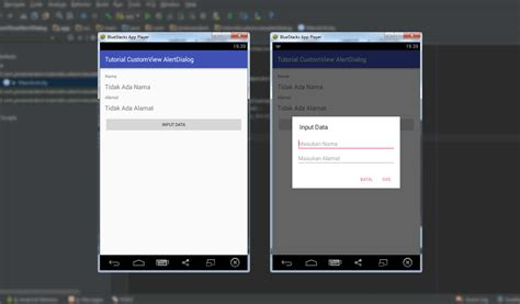 tutorial dengan android studio tutorial membuat customview alertdialog dengan android studio