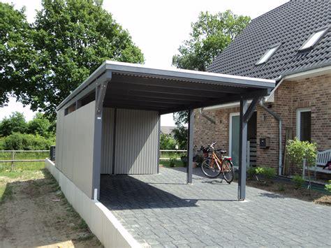 Garage Carport Design Ideas elbecarports de einzelcarport l 252 neburg mit ger 228 teraum
