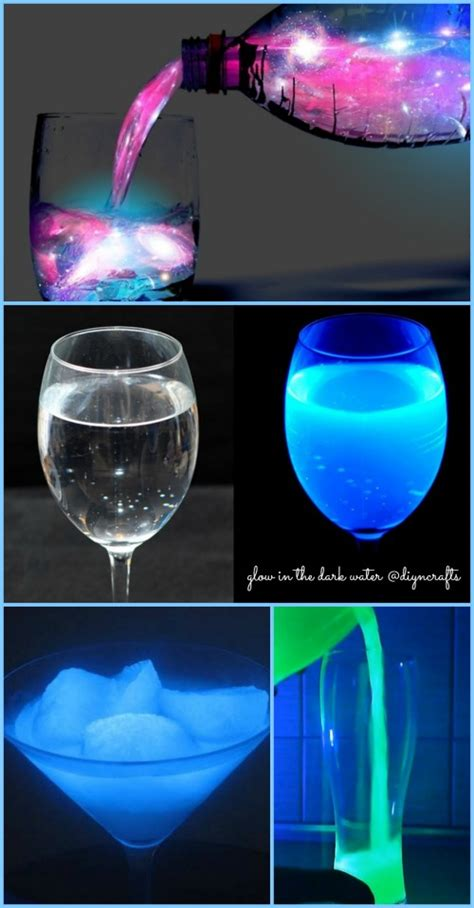 glow in the water ingenious science project how to make glow in the