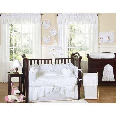 Eyelet Crib Bedding Eyelet White Crib Bedding Collection
