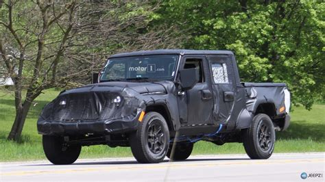 2019 jeep wrangler more photos of the upcoming 2019 jeep wrangler pickup