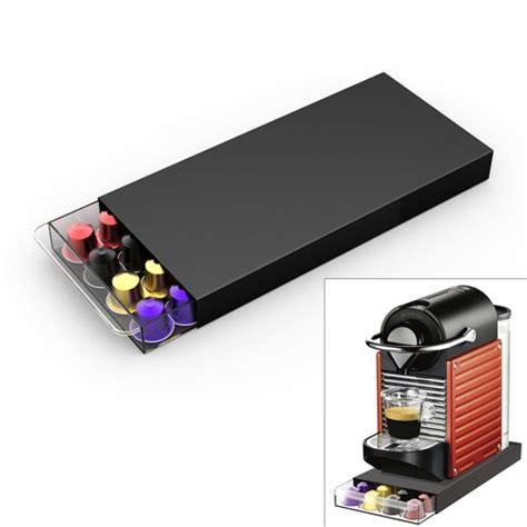 Boite De Rangement Capsule Nespresso 2338 by Porte Capsules Nespresso Tiroir Cassetto Pour 40 Dosettes