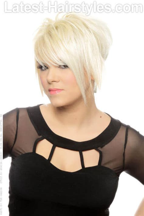 blonde hairstyles short layers 37 short choppy haircuts that are popular for 2018