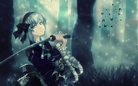 wallpaper anime girl sword most beautiful anime girl 751472 walldevil