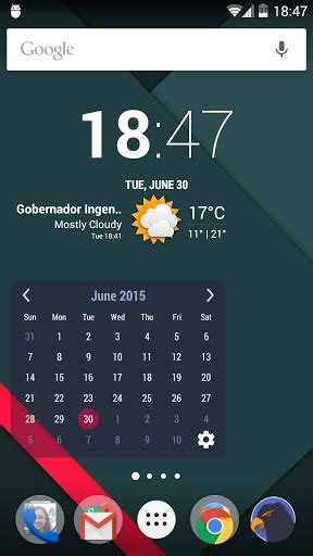 best calendar apk month calendar widget apk for android