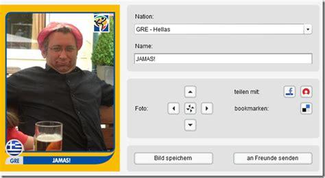 Whatsapp Sticker Selber Machen by Fussball Wm2010 Panini Sticker Zum Selber Machen Mimikama