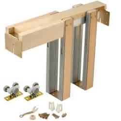 johnson hardware 1500 series pocket door frame for doors