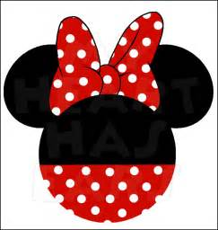 Mickey Mouse Clubhouse Wall Stickers original minnie mouse ears head instant download digital