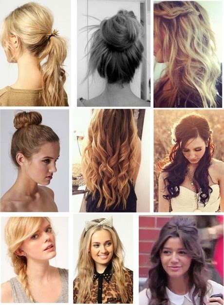 hairstyles for a casual day cute everyday hairstyles for curly hair