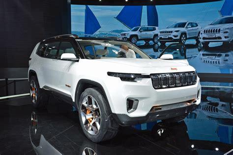 jeep wagoneer 2019 jeep yuntu hybrid concept may foreshadow future chinese 7