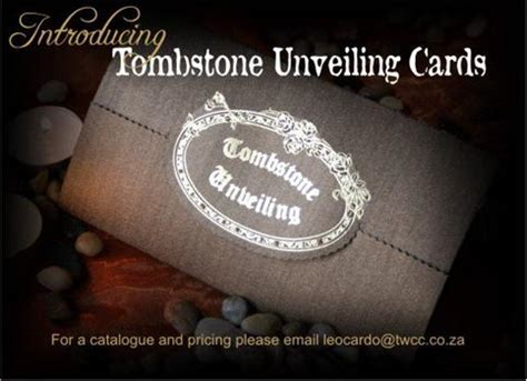 unveiling of tombstone invitation cards template r cubed t a tombstone unveiling cards northcliff