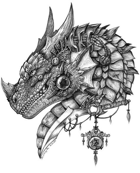 dragon warrior tattoo designs grey ink warrior in armour decorations
