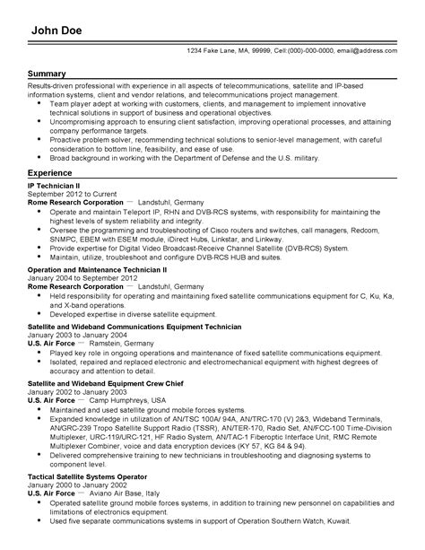telecom engineer resume format civil elegant interesting mechanical