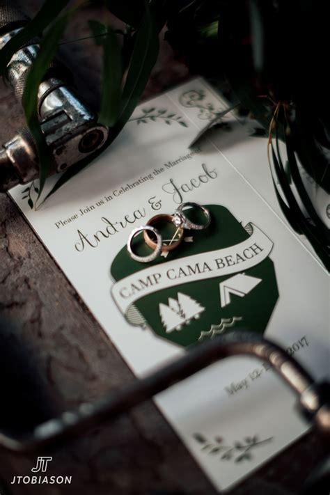 cama wedding andrea jacob cama beach state park wedding joe tobiason