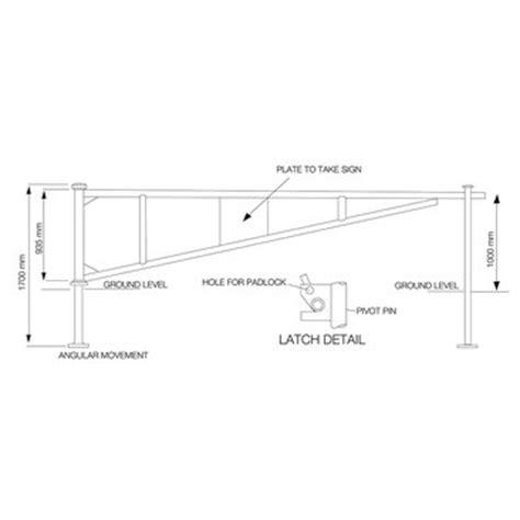 swing gate parking barrier   access control   broxap