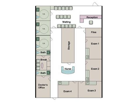 doctor office floor plan silver oaks plaza
