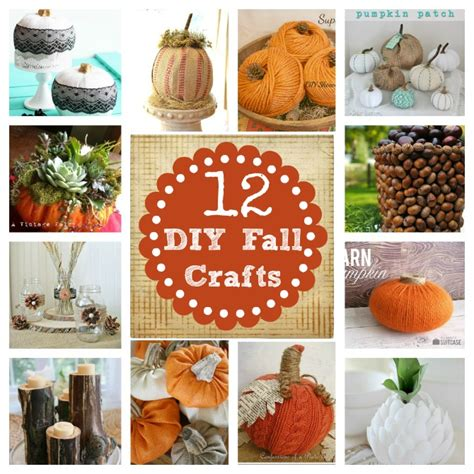 Homemade Home Decor Crafts | do it yourself decorating fall craft home stories a to z