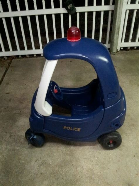 cer makeover police car cozy coupe makeover little tykes cozy coupe
