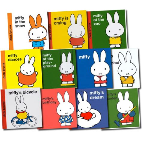 miffy classic library collection dick bruna 10 book set ebay
