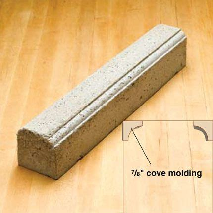 Rubber Sculpture Block awesome diy concrete border molds landscaping