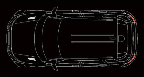 land rover evoque dwg block  autocad designs cad