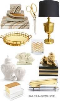 Black And White Desk Accessories Gold Black Office Supplies Liao A Ff E Desk Inspiration Offices And White Gold