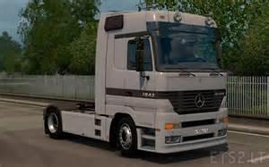 Curtains For Trucks Mercedes Mp1 Ets 2 Mods