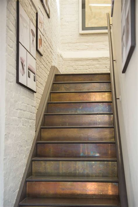 Painted Stairs Design Ideas Source Pinterest Home And Decorating Pinterest Painting Stairs Cladding And Paint Stairs