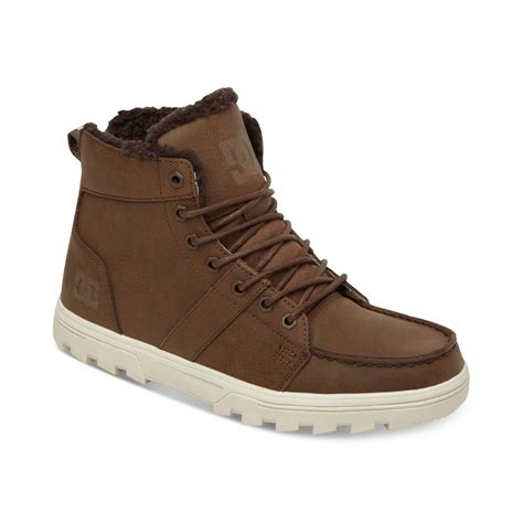 dc shoes woodland se boots in brown for lyst