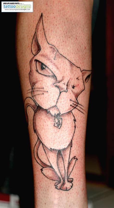 wild tattoos designs tattoos cat designs