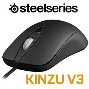 Mouse Steelseries Kinzu V3 Black steelseries kinzu v3 gaming mouse black