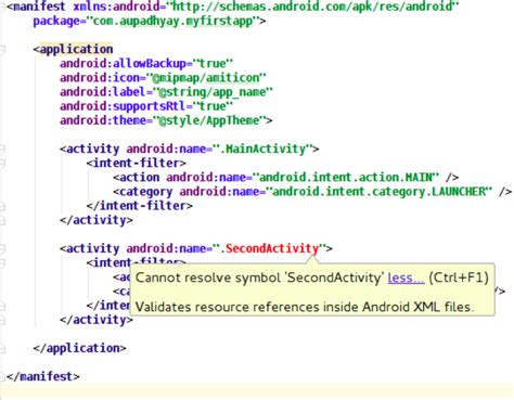 Android Cannot Resolve Symbol Theme by Can T Resolve Symbol Secondactivity Validates Resource