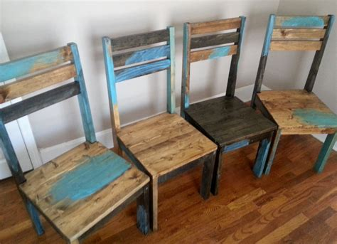 Distressed Dining Room Chairs Rustic Dining Chair Distressed Dining Room By Alexfurniture1