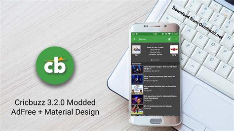 crickbuzz apk cricbuzz 3 2 0 apk modded material design adfree pro unlocked app