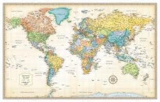 best world maps ebay