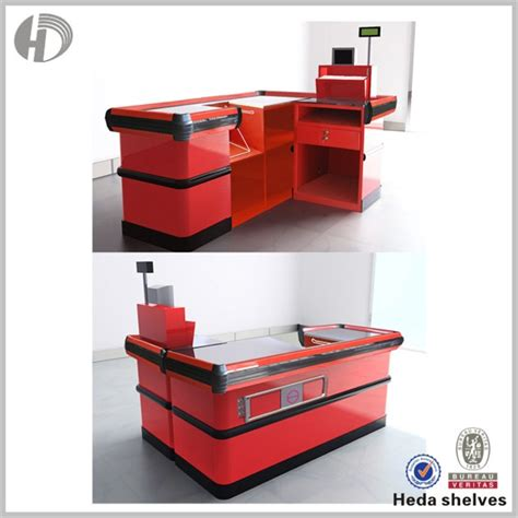 Checkout Register Cashier cashier table design supermarket cashier counter table