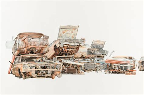wrecked car drawing pin by luis gonzalez on props pinterest