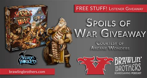 Spoils Of War Board brawling brothers podcast board reviews