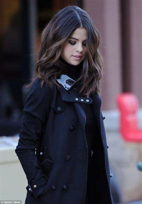 coat hair style photos selena gomez short hair trend trends pinterest