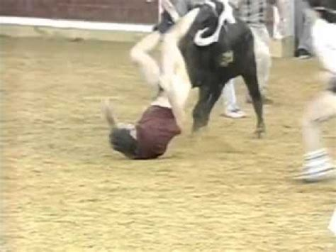 pants & underwear ripped off during a bullfight youtube