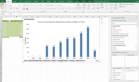 pivot table excel mac pivot chart in excel mac choice image how to guide and