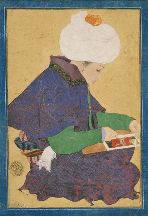 Ottoman Ruler by Ottoman Dynasty Portrait Of A Painter Of