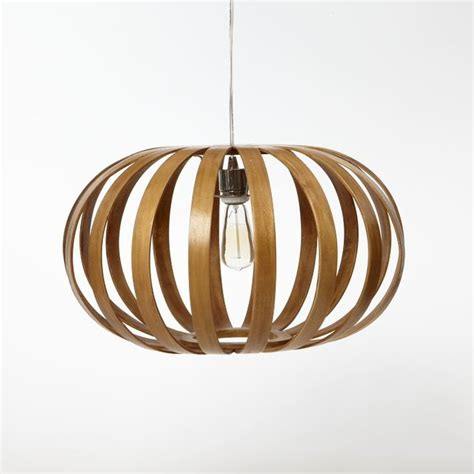 West Elm Pendant Light Bentwood Pendant Oblong Modern Pendant Lighting By West Elm