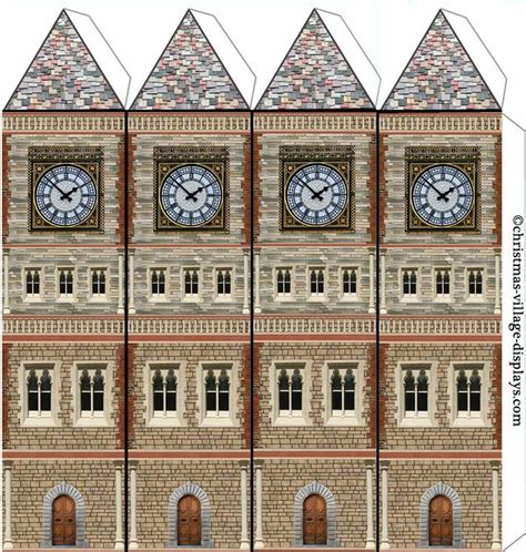 Papercraft Clock - 1450 best blondie s putz images on paper