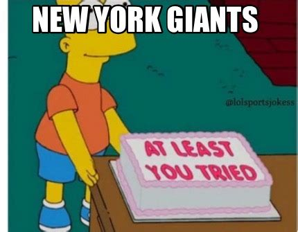 Ny Giants Memes - meme creator new york giants meme generator at