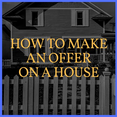 how to write an offer on a house template how to make an offer on a house stefan aaarnio