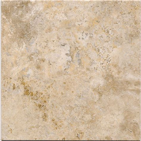shop cryntel italiastone 1 piece 12 in x 12 in groutable travertine peel and stick stone luxury